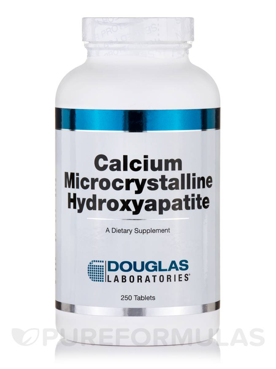 Calcium Microcrystalline Hydroxyapatite 2000 mg - 250 Tablets