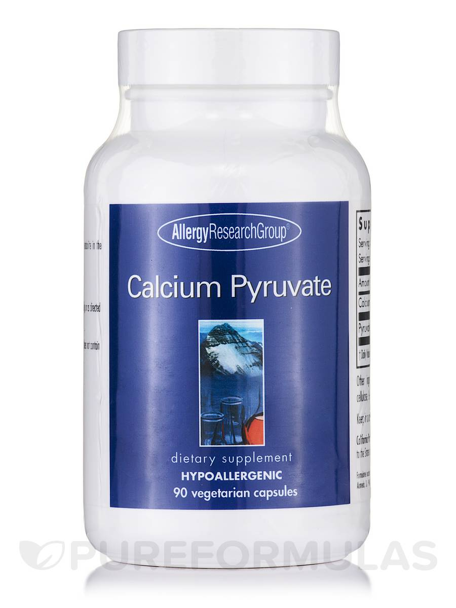 Calcium Pyruvate - 90 Vegetarian Capsules