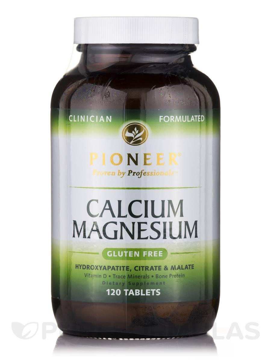 Calcium Magnesium - 120 Tablets