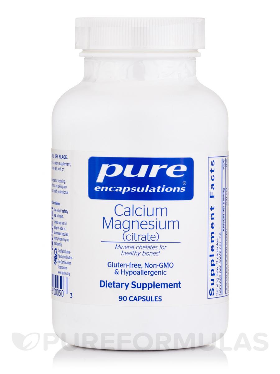 Calcium Magnesium (citrate) - 90 Capsules