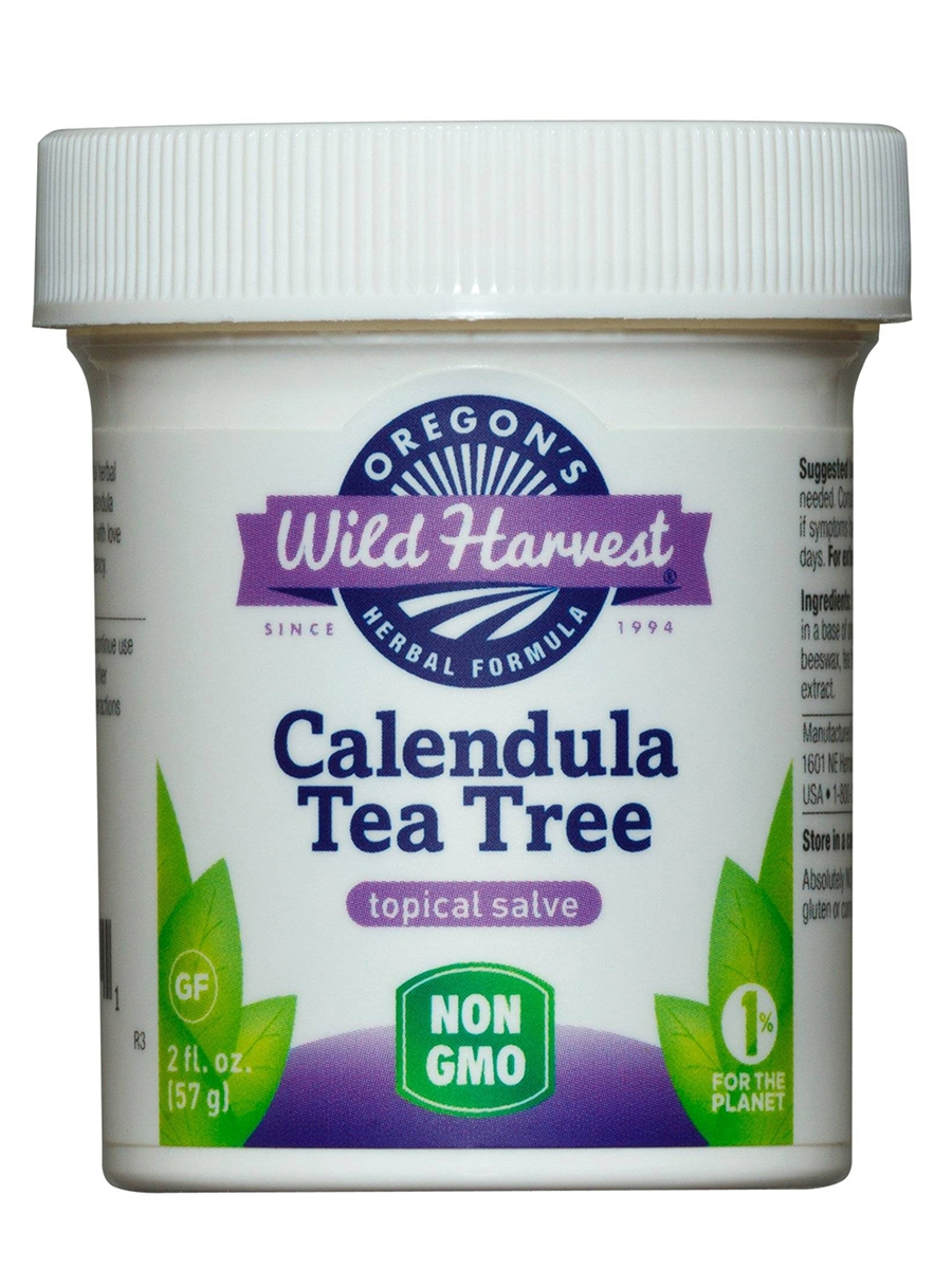Calendula Tea Tree Topical Salve - 2 fl. oz (57 Grams)
