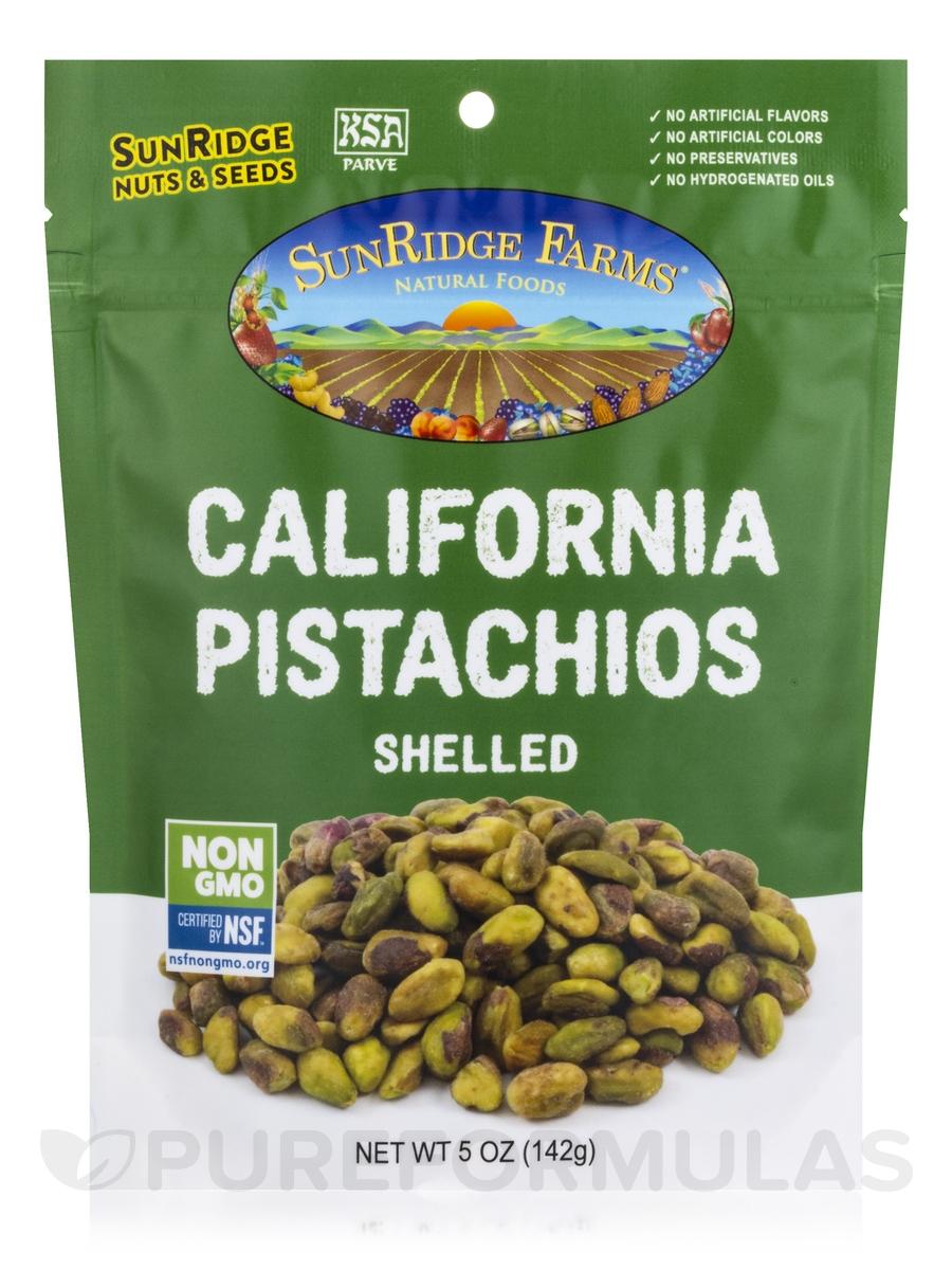 California Pistachios - Shelled - 5 oz (142 Grams)