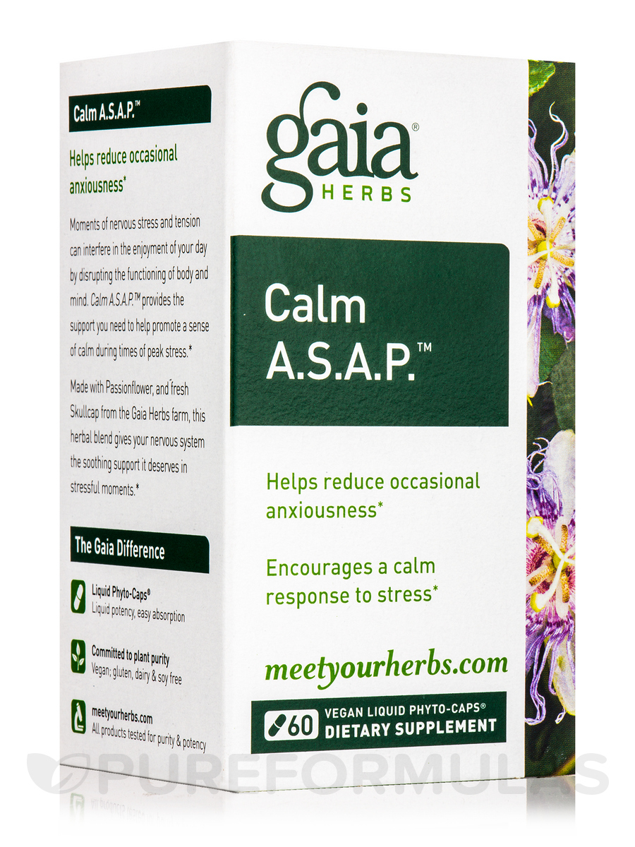 Calm A.S.A.P.™ - 60 Vegan Liquid Phyto-Caps®