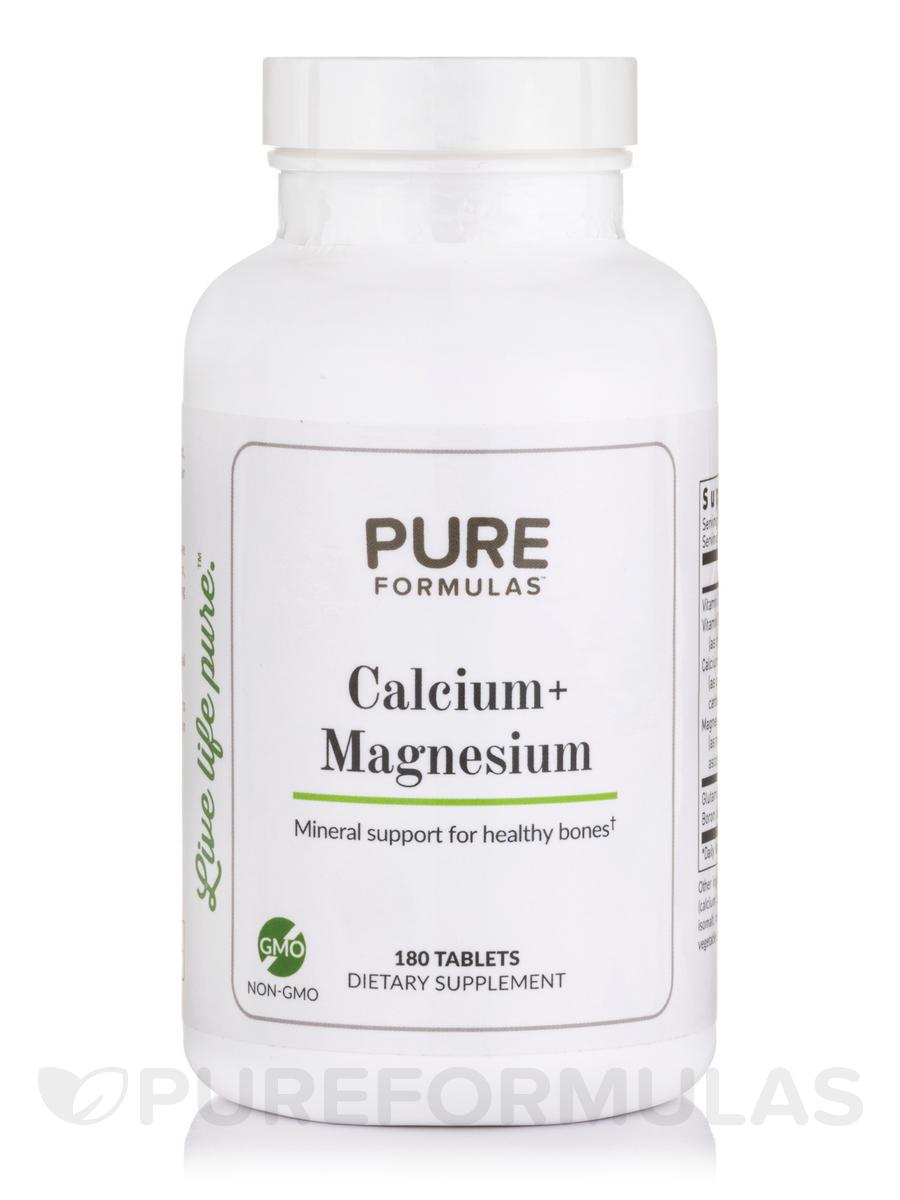 Calcium + Magnesium - 180 Tablets
