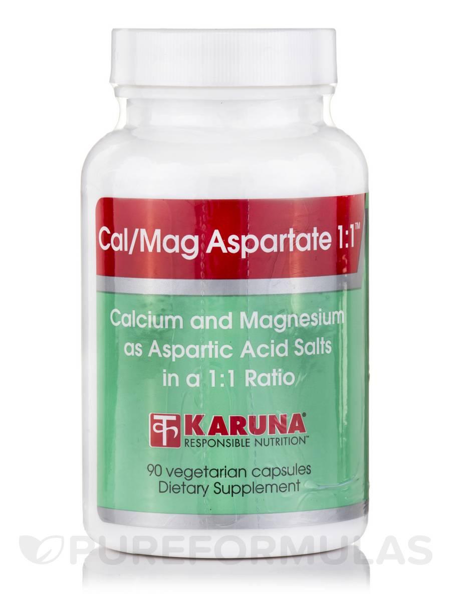 Cal/Mag Aspartate 1:1 - 90 Vegetarian Capsules