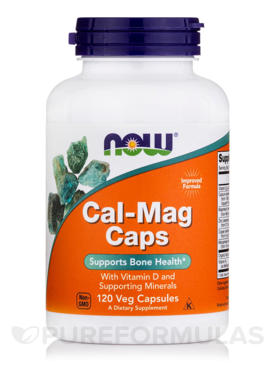 Cal-Mag Caps - 120 Capsules