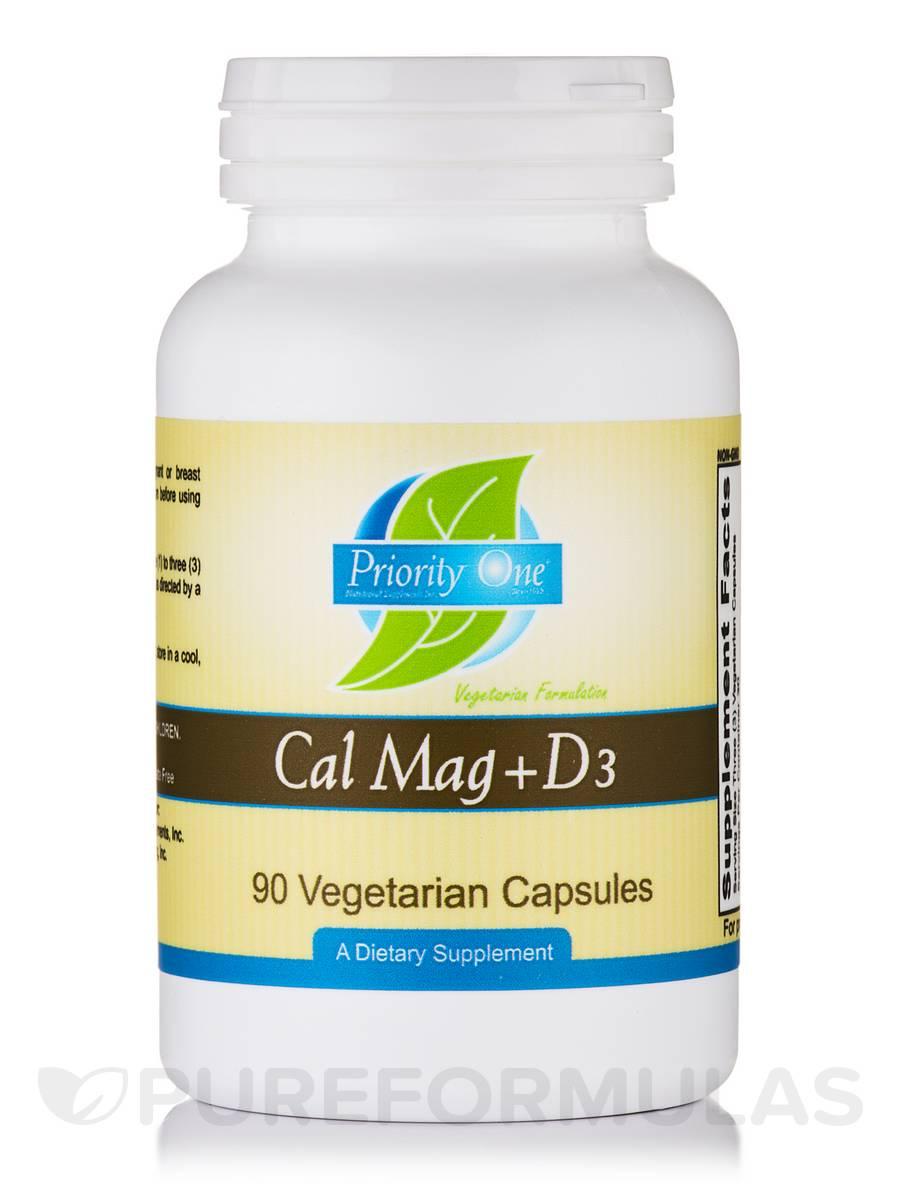 Cal Mag Plus Vitamin D3 - 90 Vegetarian Capsules