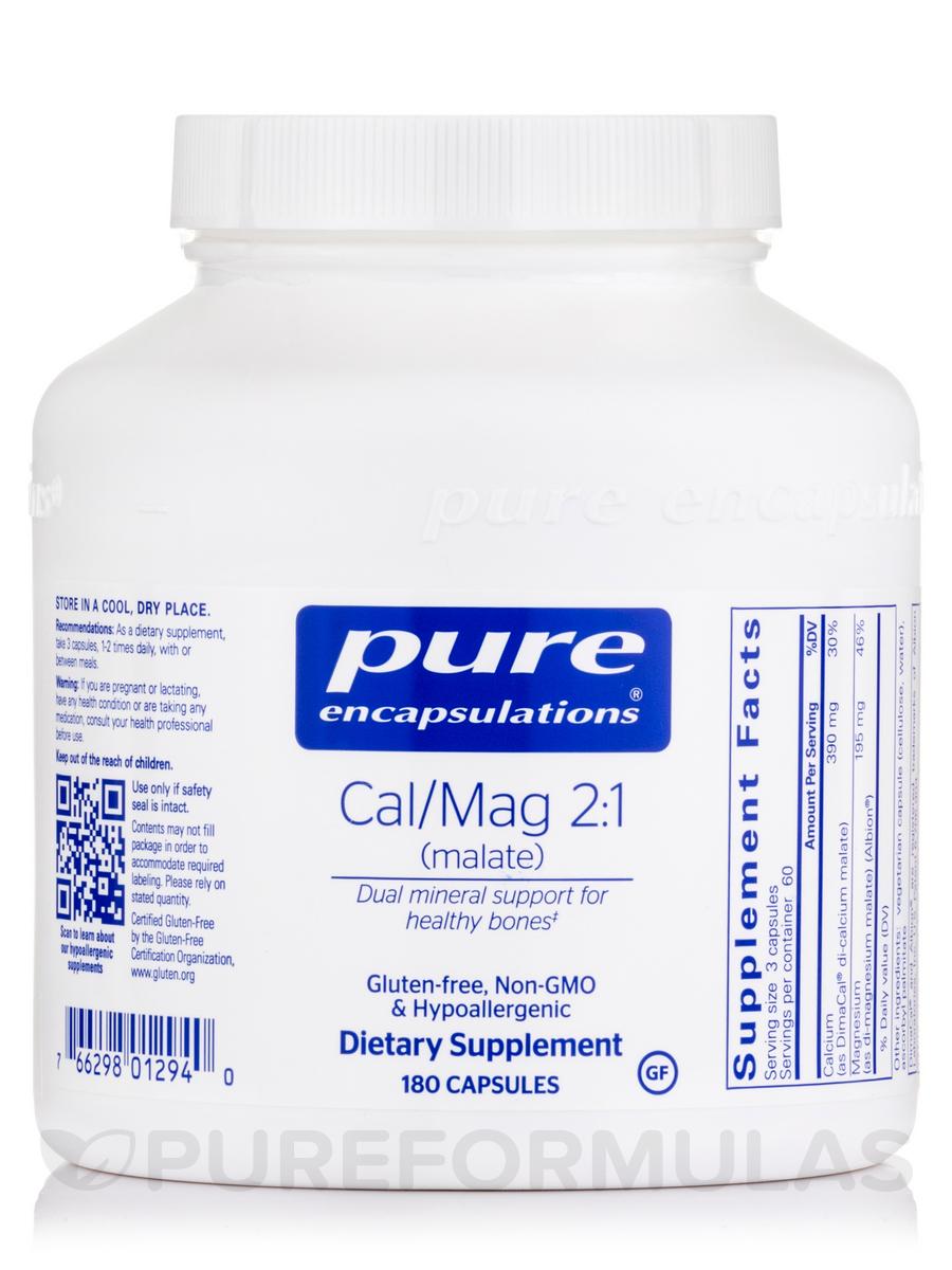 Cal/Mag (malate) 2:1 - 180 Capsules