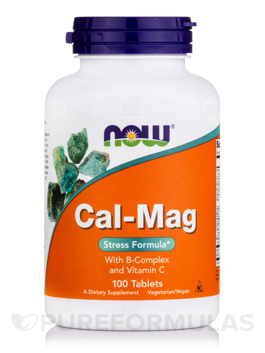 Cal-Mag with B-Complex and Vitamin C - 100 Tablets