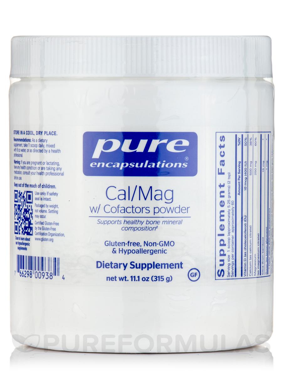 Cal/Mag w/Cofactors - 315 Grams