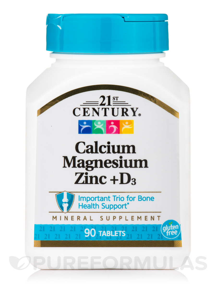 Cal Mag Zinc plus D3 - 90 Tablets