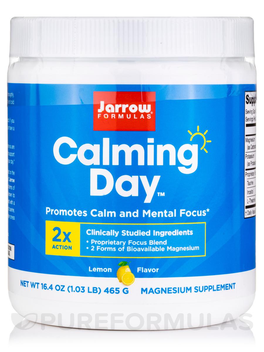 Calming Day™, Lemon Flavor - 16.4 oz (465 Grams)