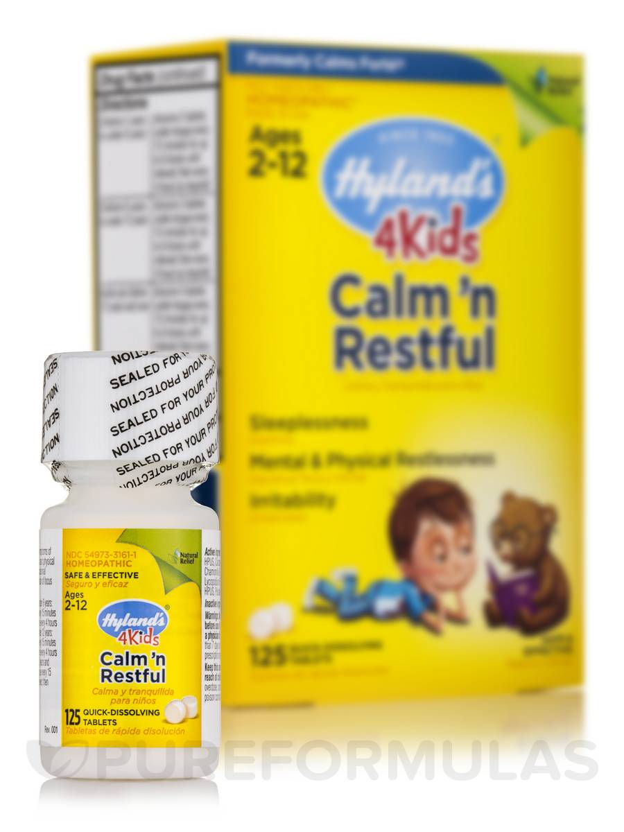 4 Kids Calm 'n Restful - 125 Tablets