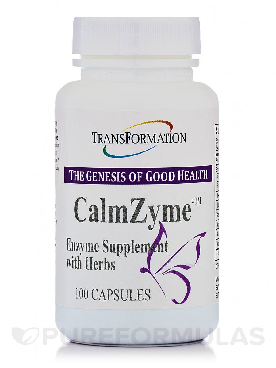 CalmZyme - 100 Capsules