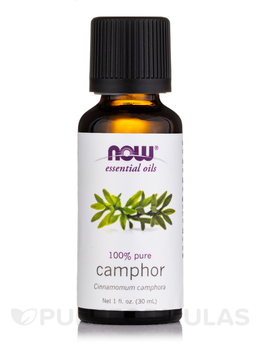 NOW® Essential Oils - Camphor Oil - 1 fl. oz (30 ml)