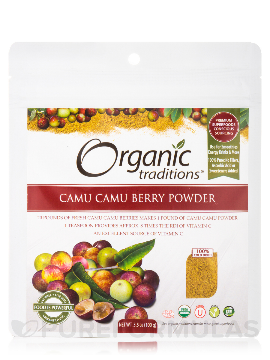 Camu Camu Berry Powder - 3.5 oz (100 Grams)