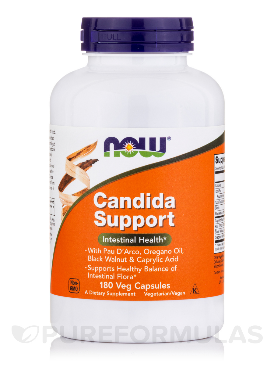 Candida Support - 180 Veg Capsules