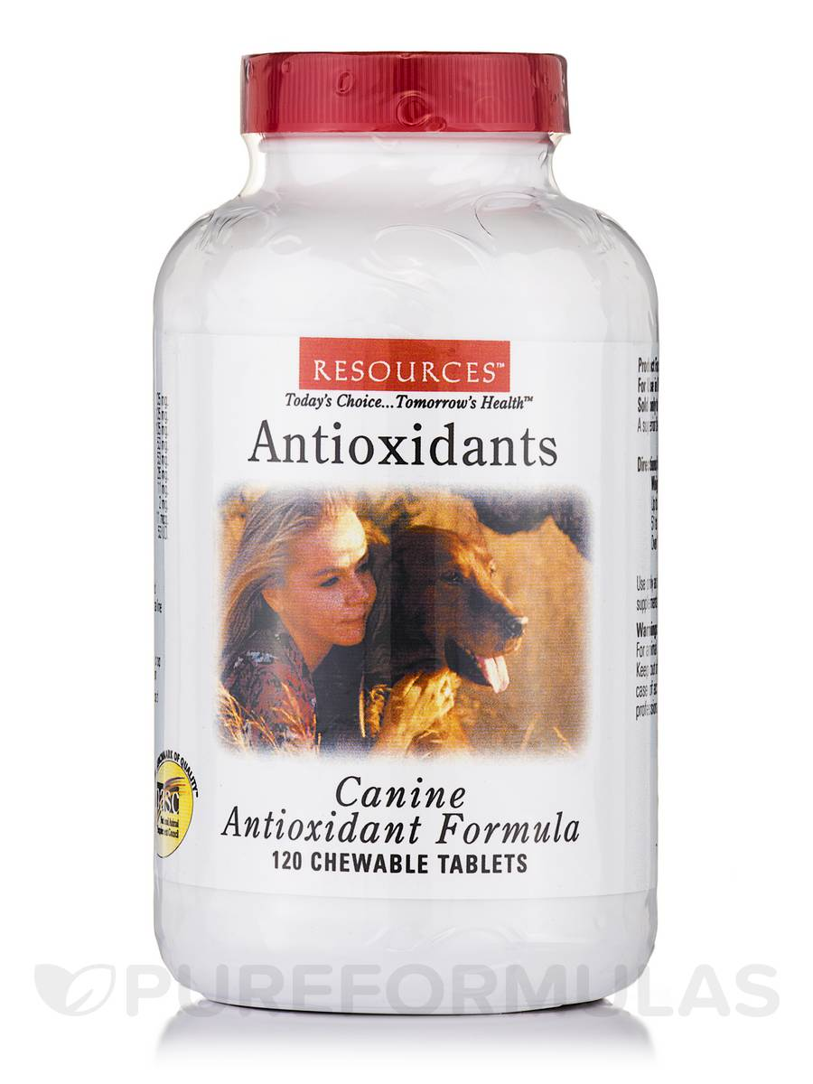 Antioxidant Formula for Dogs - 120 Chewable Tablets