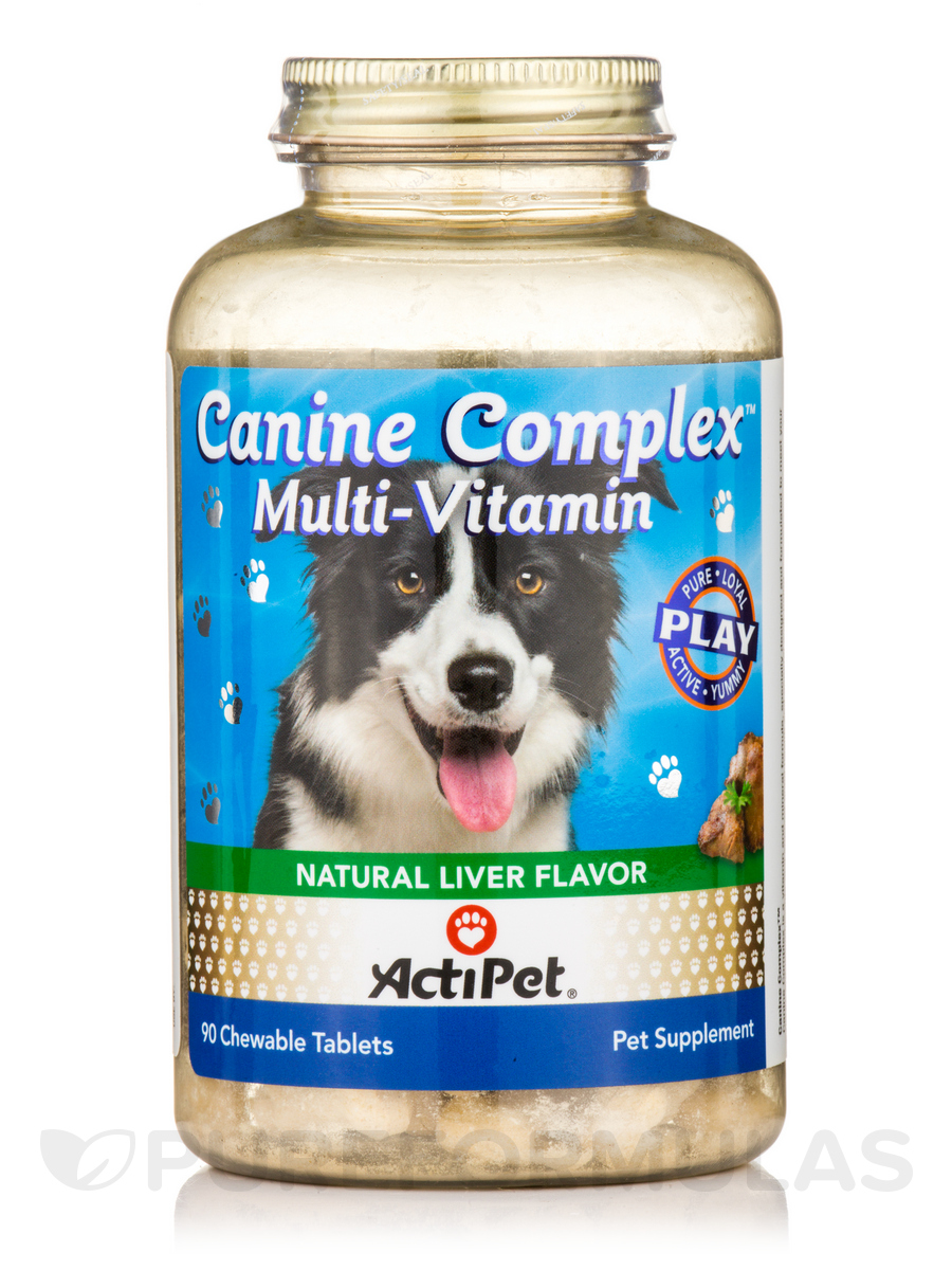 Canine Complex, Natural Liver Flavor - 90 Chewable Tablets