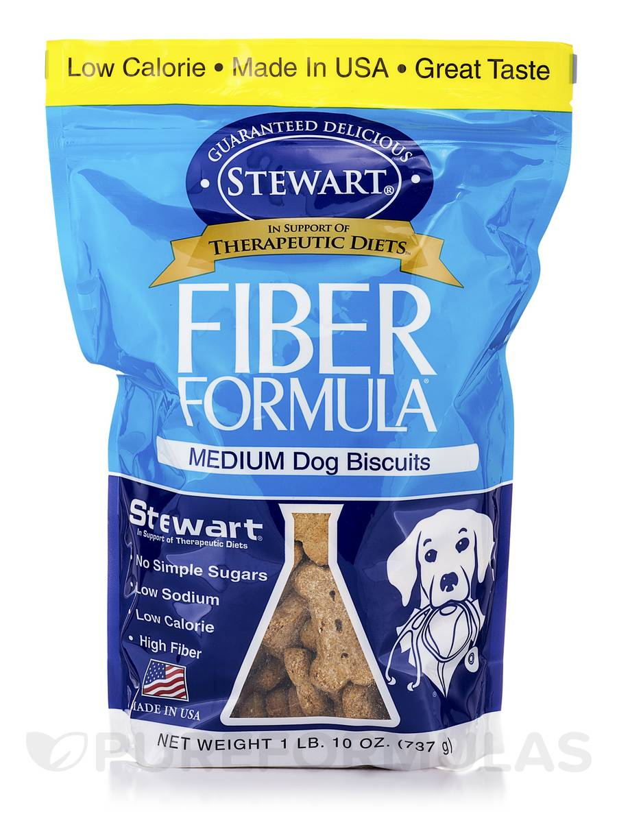 Canine Fiber Formula Biscuit (Medium Dog Biscuits) - 26 oz (737 Grams)