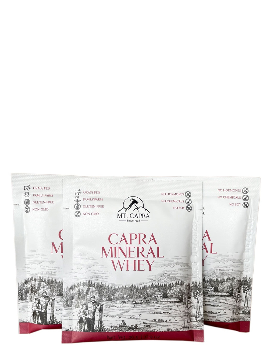 Capra Mineral Whey - 30 Packets