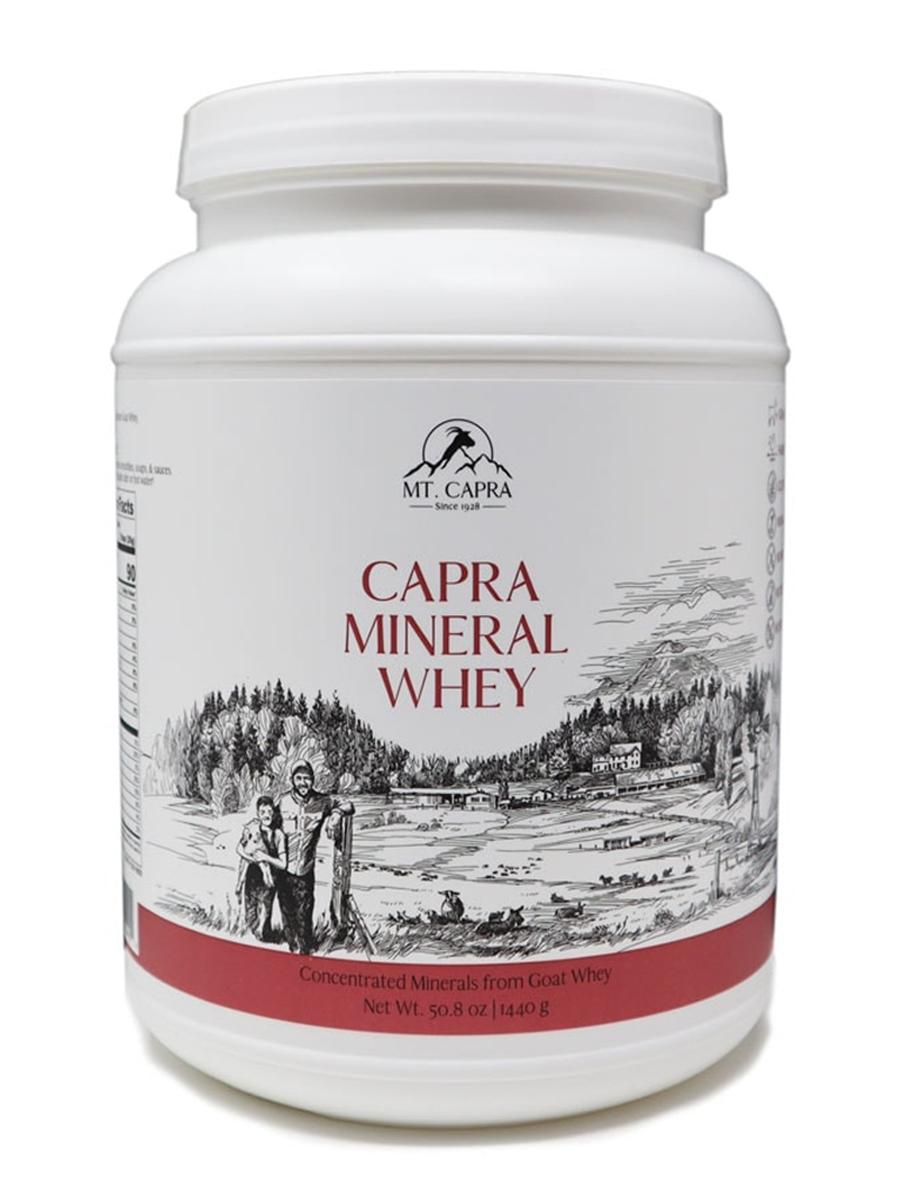 Capra Mineral Whey - 50.8 oz (1440 Grams)