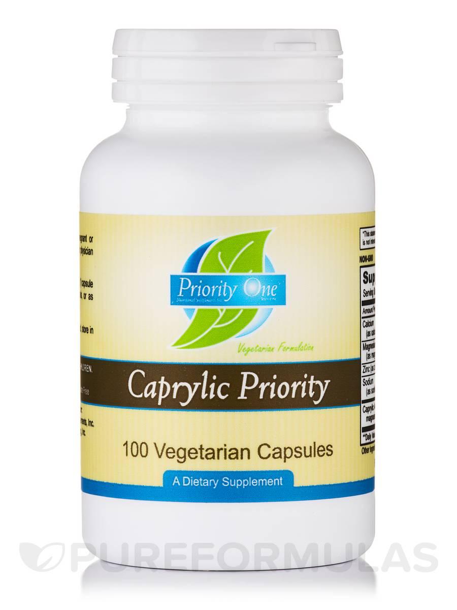 Caprylic Priority - 100 Vegetarian Capsules
