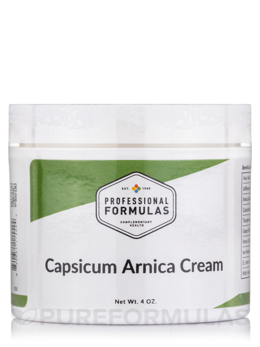Capsaicin Arnica Cream - 4 oz (113 Grams)