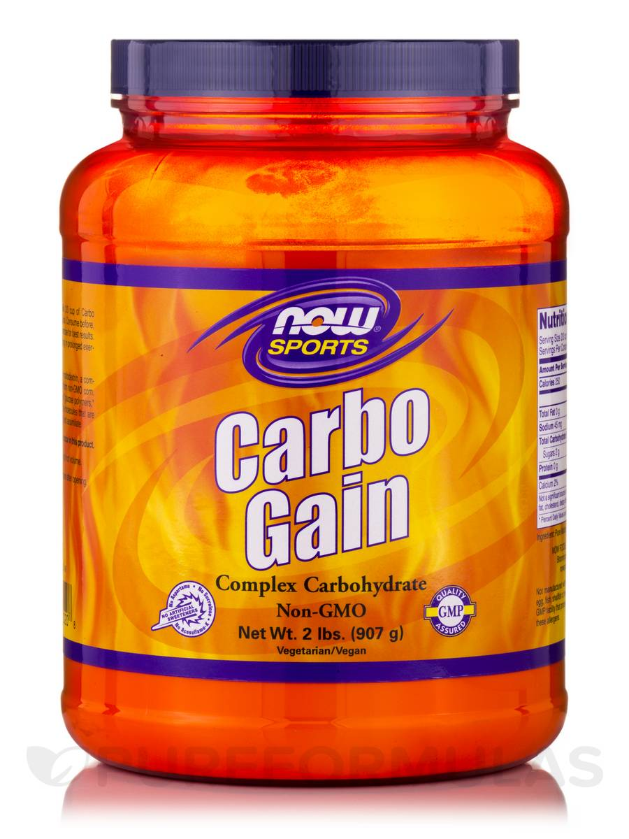 NOW® Sports - Carbo Gain - 2 lbs (907 Grams)
