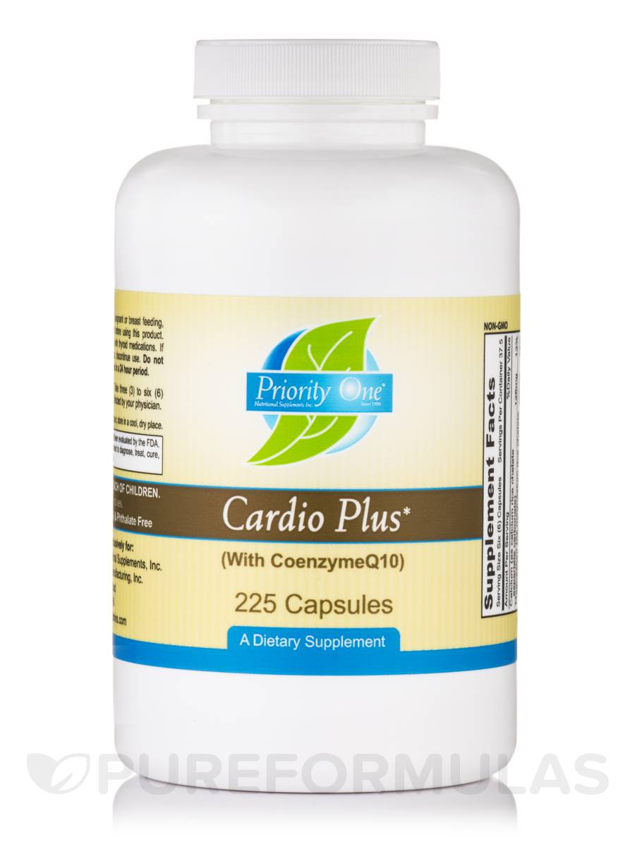 Cardio Plus (with CoenzymeQ10) - 225 Capsules