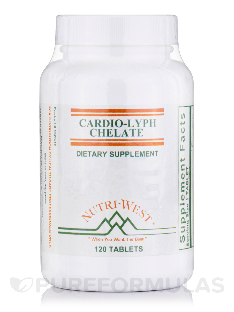Cardio-Lyph-Chelate - 120 Tablets