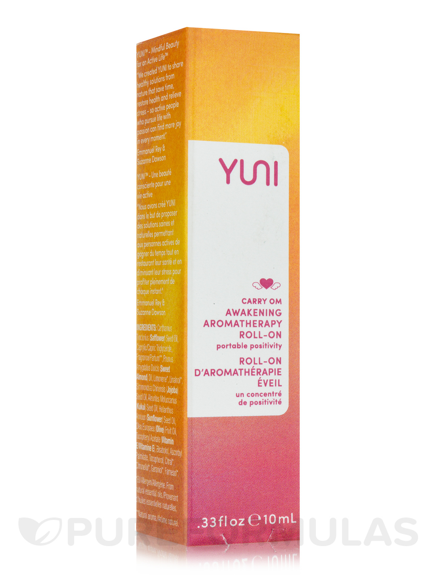 CARRY OM Stress-Relieving Aromatherapy Essence Roll-On - .33 fl. oz (10 ml)