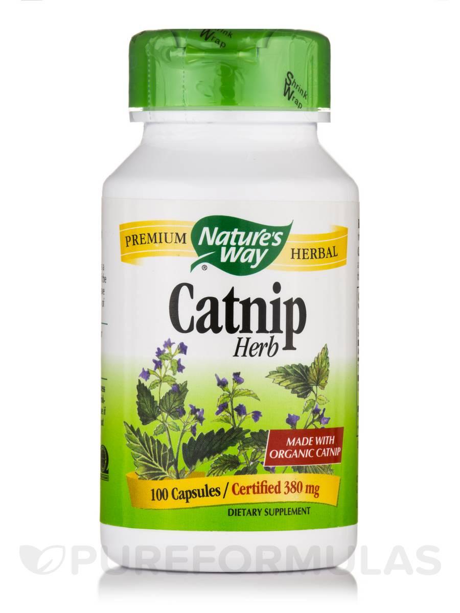 Catnip Herb (COG) - 100 Capsules