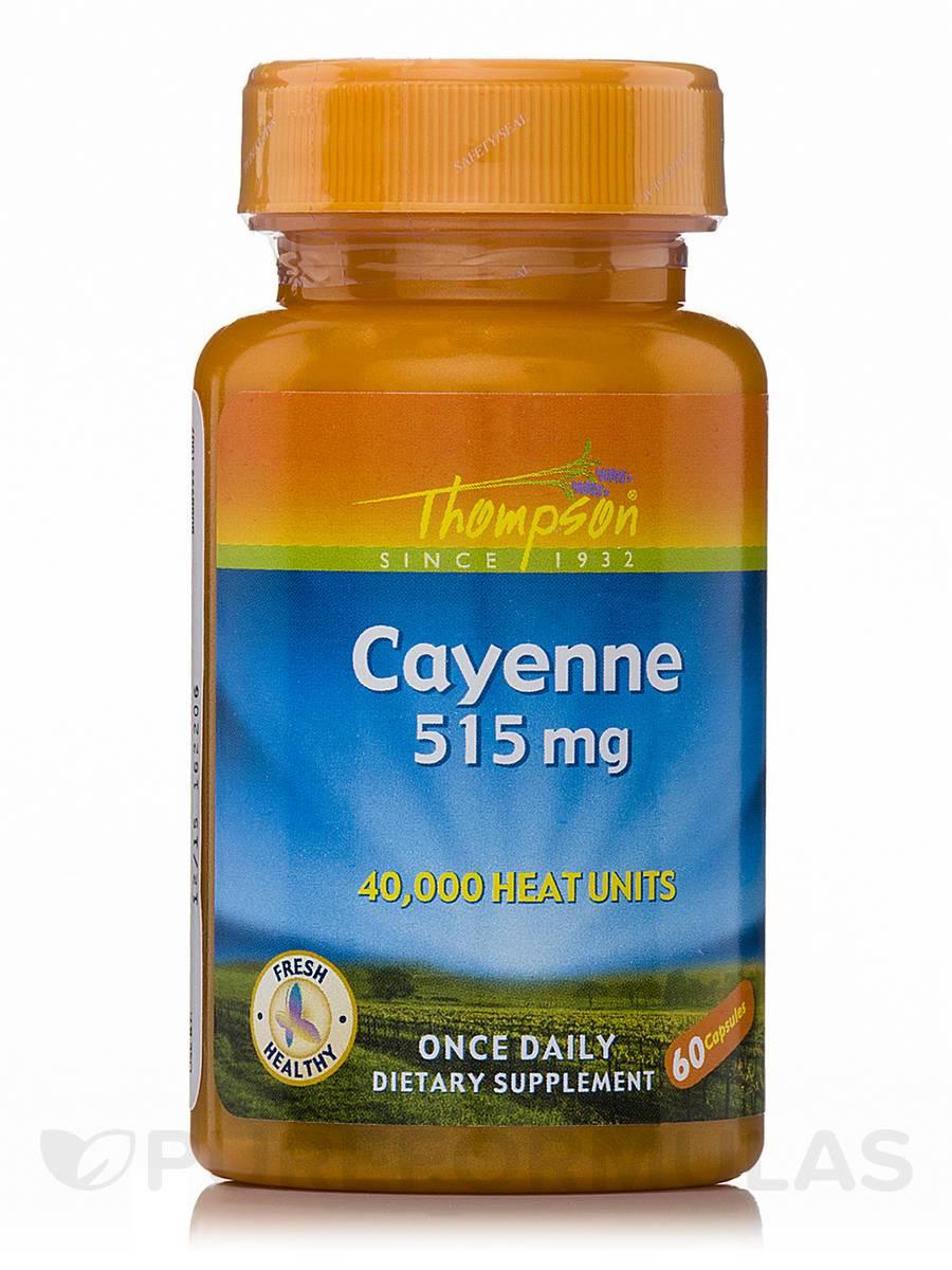Cayenne 515 mg - 60 Capsules