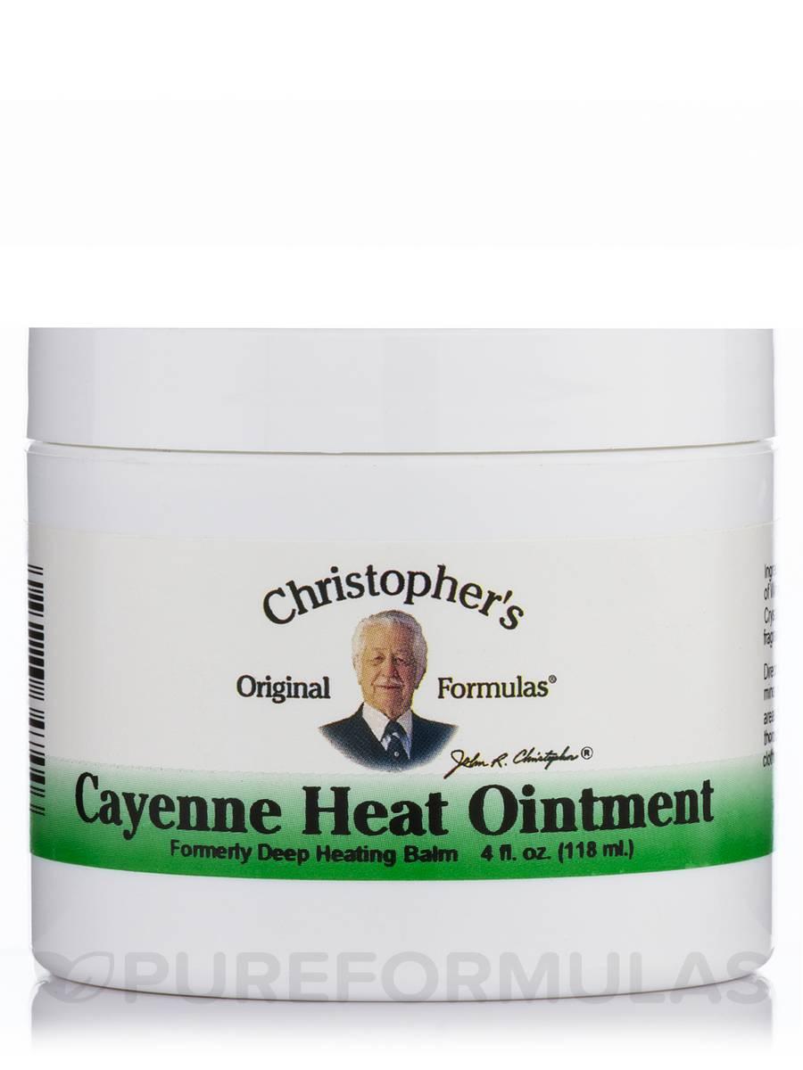 Cayenne Heat Ointment - 4 fl. oz (118 ml)