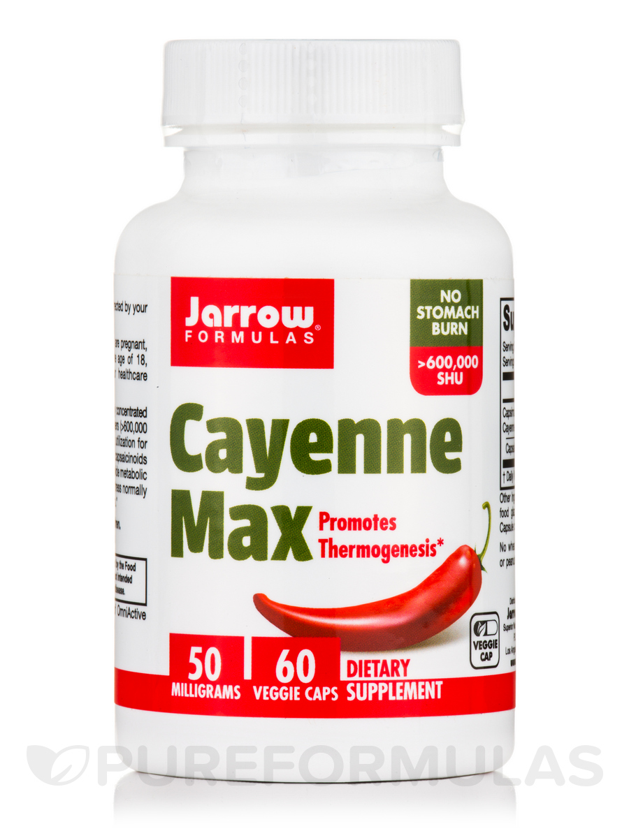 Cayenne Max - 60 Veggie Caps