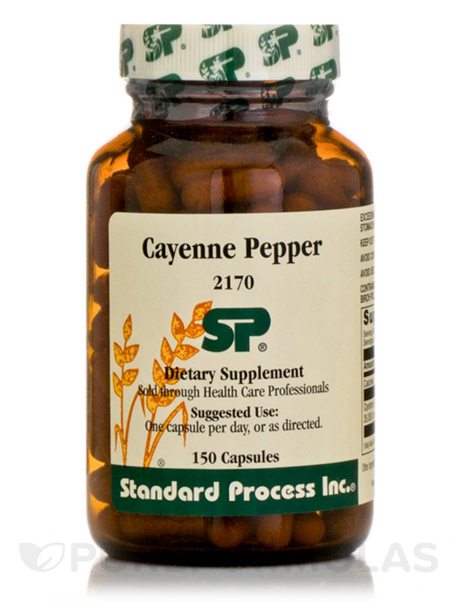 Cayenne Pepper - 150 Capsules