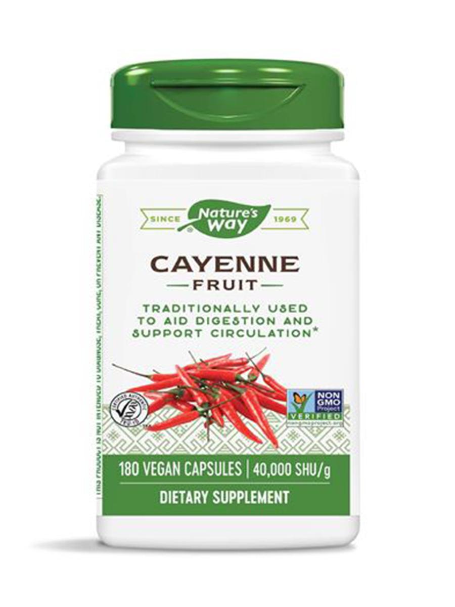 Cayenne Pepper - 180 Capsules