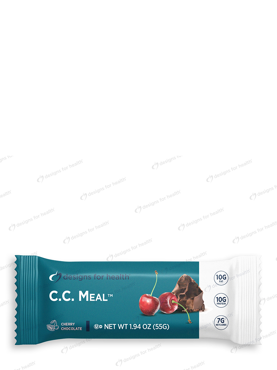 C.C. Meal™ Dark Chocolate/Cherry Flavored Bar - Box of 12 Bars