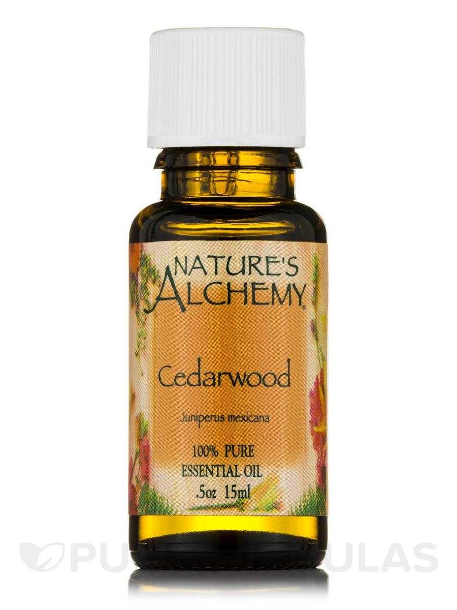 Cedarwood Pure Essential Oil - 0.5 oz (15 ml)