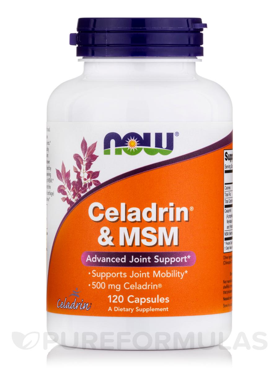 Celadrin® & MSM - 120 Capsules