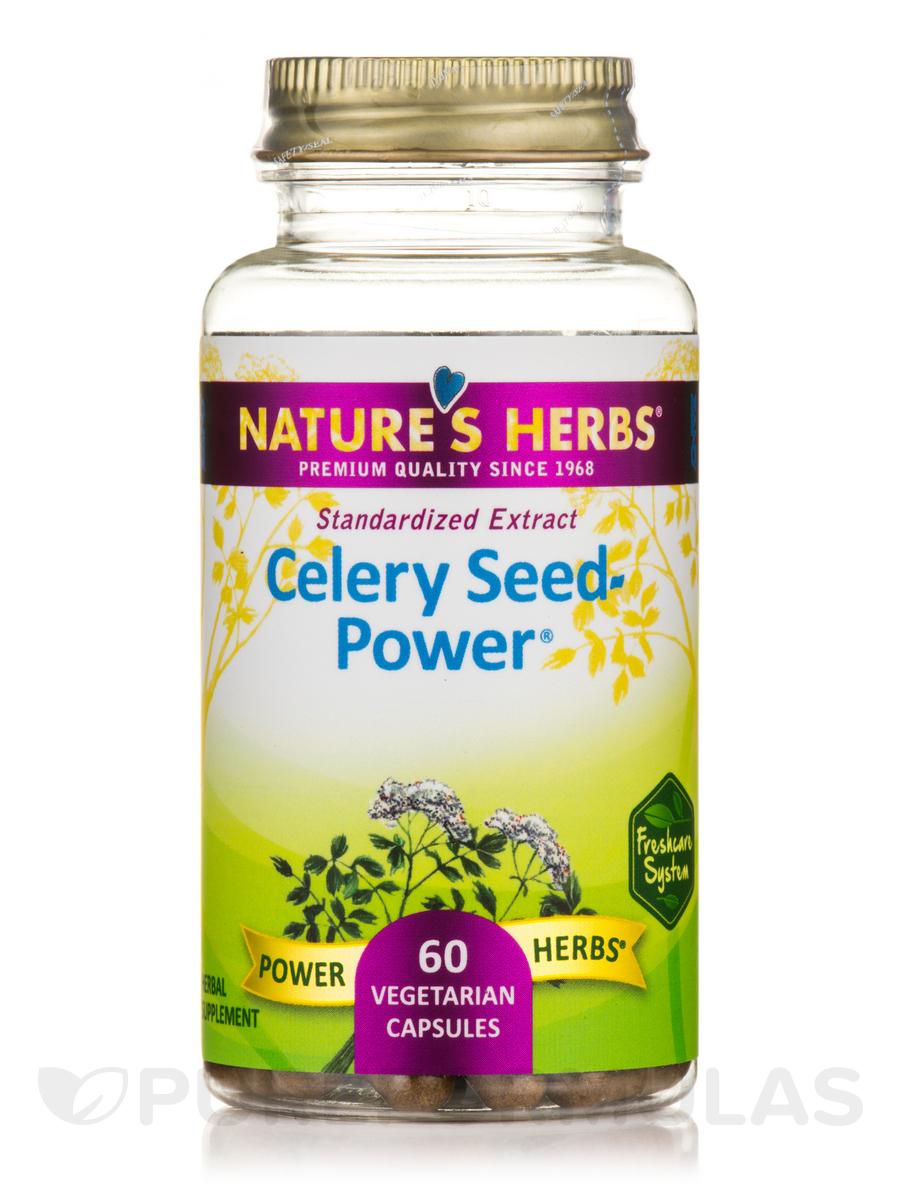 Celery Seed Power - 60 Vegetarian Capsules