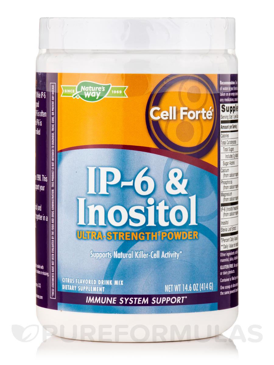 Cell Forté® IP-6 & Inositol Powder, Citrus Flavor - 14.6 oz (414 Grams)