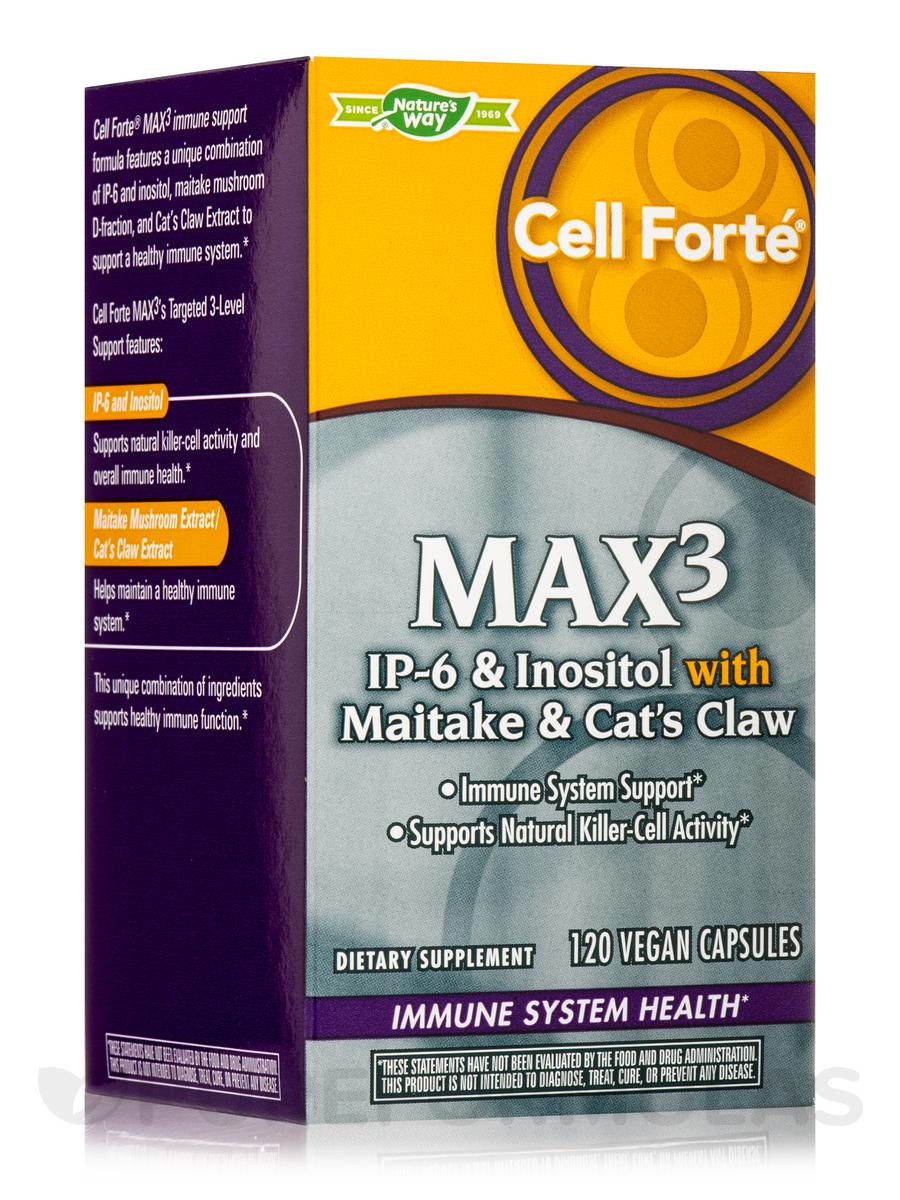 Cell Forté® MAX3 - 120 Vegan Capsules