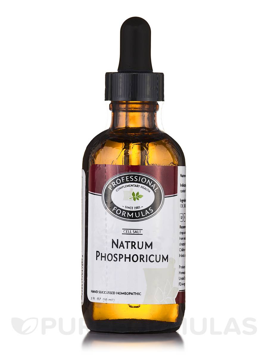 CELL SALT 10 (Natrum Phosphoricum) - 2 fl. oz (60 ml)