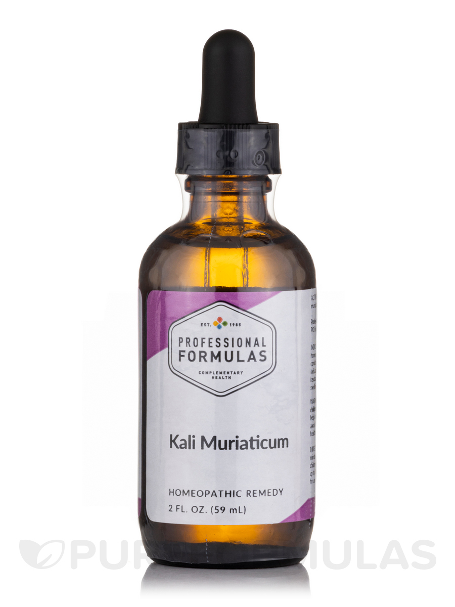CELL SALT 5 (Kali Muriaticum) - 2 fl. oz (60 ml)