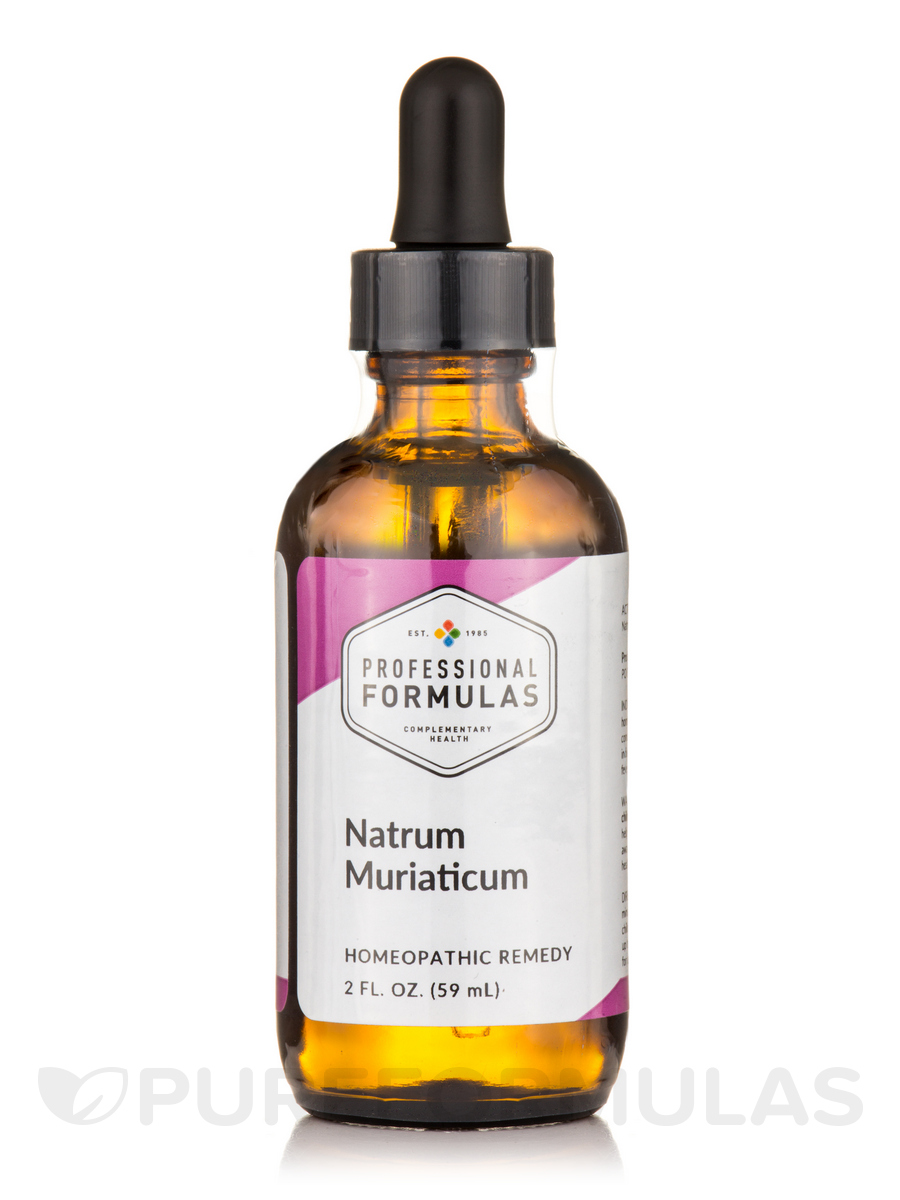 CELL SALT 9 (Natrum Muriaticum) - 2 fl. oz (60 ml)