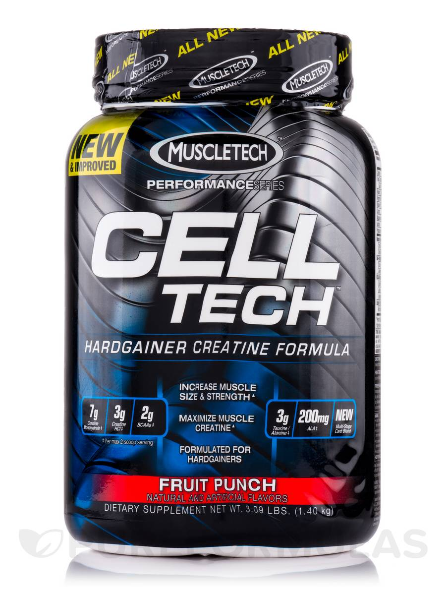 Cell Tech Performance Series Fruit Punch - 3.09 lbs (1.40 kg)