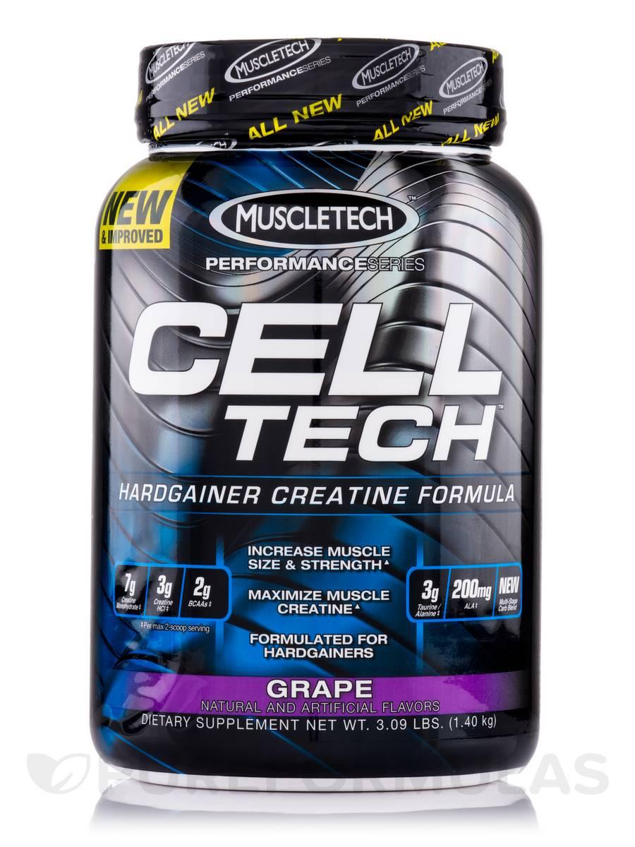 Cell Tech Performance Series Grape - 3.09 lbs (1.40 kg)