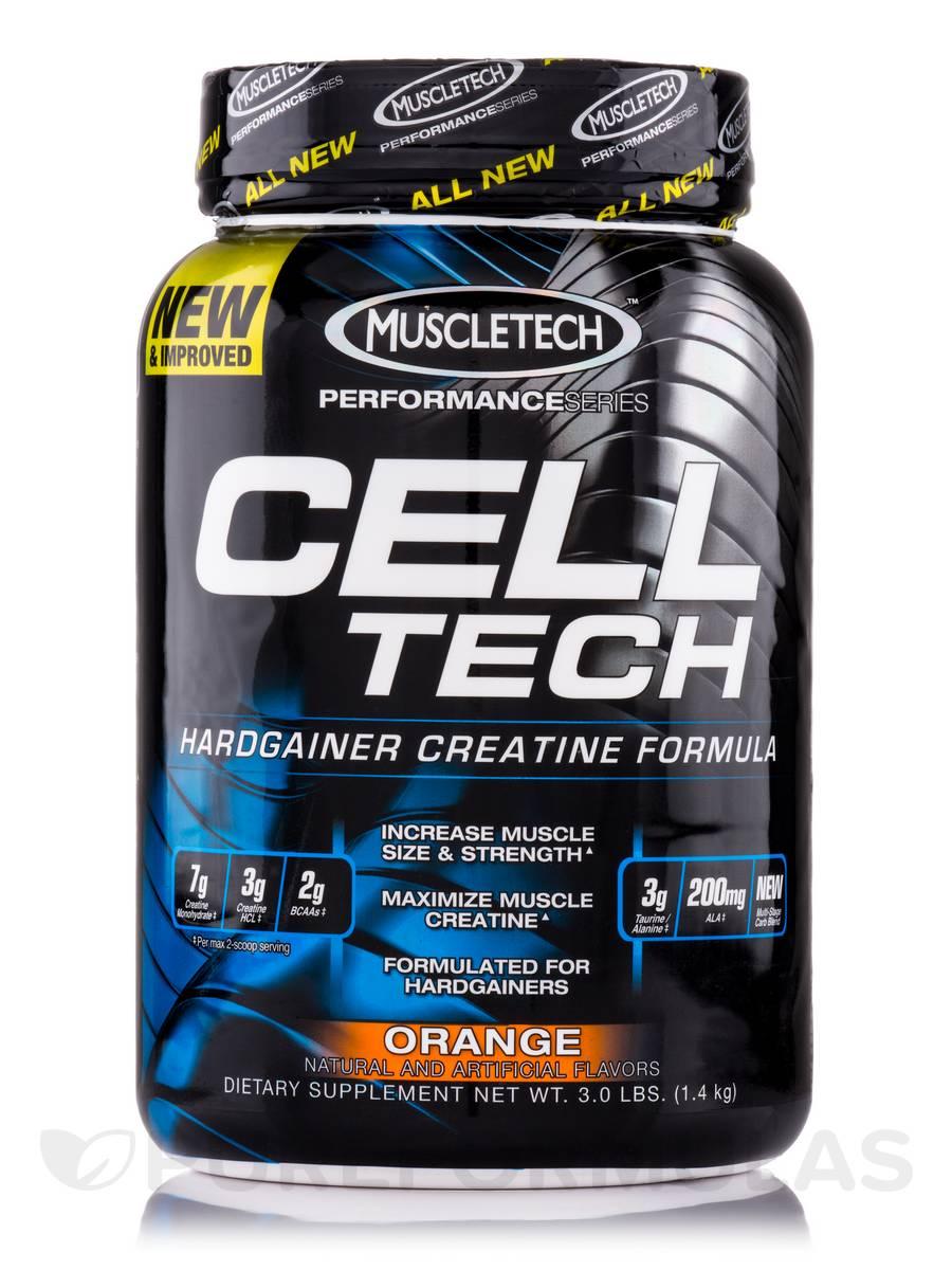 Cell Tech Performance Series Orange - 3.0 lbs (1.4 kg)